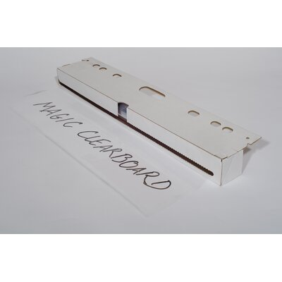 "Magic Whiteboard Products Magic 7"" x 3.5"" Whiteboard"