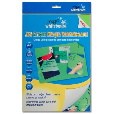 """Magic Whiteboard Products Letter Sheet 11.75"""" x 8.25"""" H Whiteboard"""