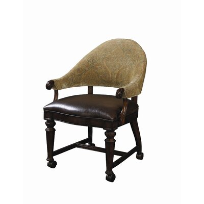 Highlands Game Chair With Casters Wayfair