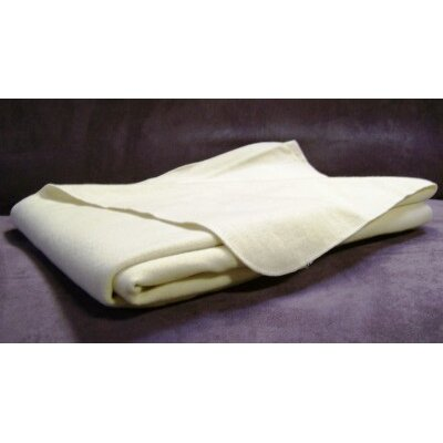 White Lotus Home 100% Organic Wool Travel Puddle Pad