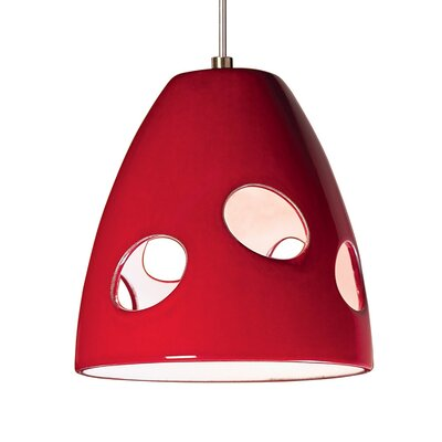 A19 Milano 1 Light Mini Pendant