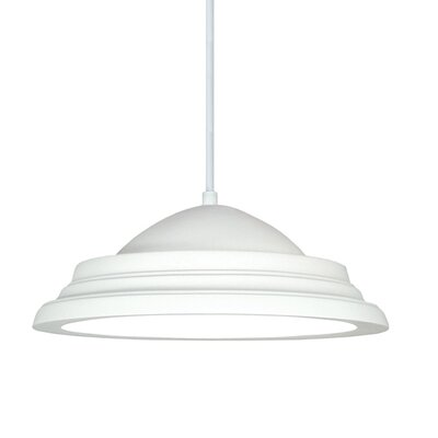 Majorca 1 Light Inverted Pendant