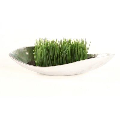 Distinctive Designs Faux Grass and Rocks in Tray