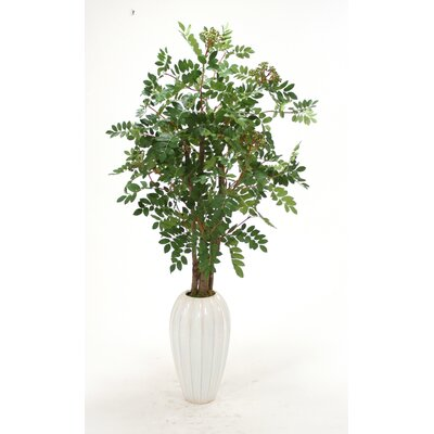 Distinctive Designs Mountain Ash Floor Plant in Vase