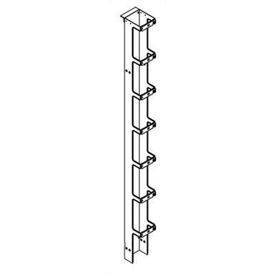 Chatsworth 7' Single-Sided Vertical Cabling Section