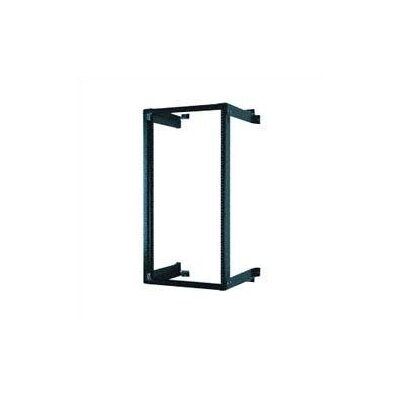 Chatsworth Black Fixed Wall Mount Equipment Rack