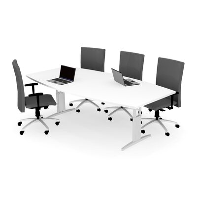 Markant USA, Inc. MyOffice Boat Shaped Conference Table