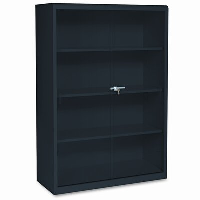 "Tennsco Corp. Tennsco Executive 53"" Bookcase with Glass Doors"