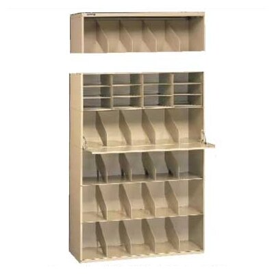Tennsco Corp. Stackable Filing System Open Filing Unit