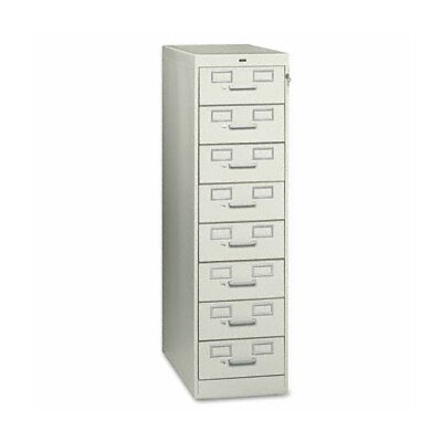 Tennsco Corp. Tennsco Eight-Drawer Multimedia Filling Cabinet