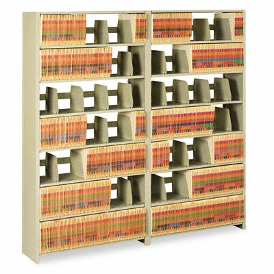 Tennsco Corp. Snap-Together Open Shelving 6-Shelf Closed Add-On