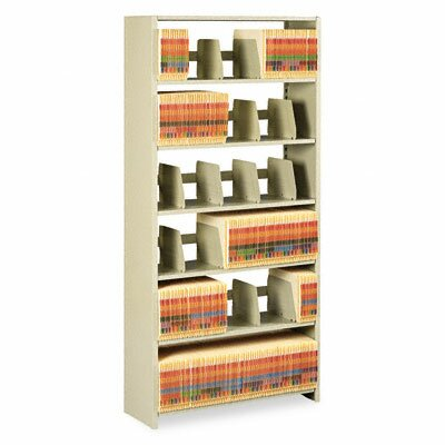 Tennsco Corp. Tennsco Snap-Together 6-Shelf Closed Starter Set Open Filing Unit