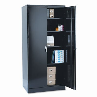 "Tennsco Corp. Tennsco 78"" High Deluxe Steel 39"" Storage Cabinet"
