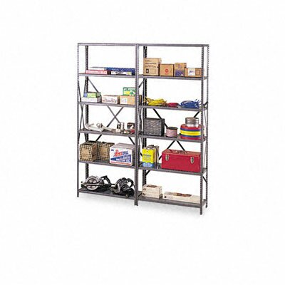 Tennsco Corp. Industrial Steel Shelving for 87 High Posts, 48W X 12D, 6/Carton
