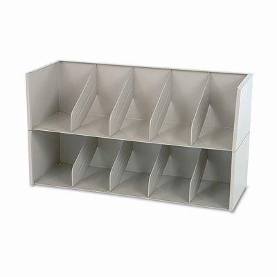 "Tennsco Corp. Add-A-Stack Shelving System 2-Shelf Filing Tier, 36"" Wide"