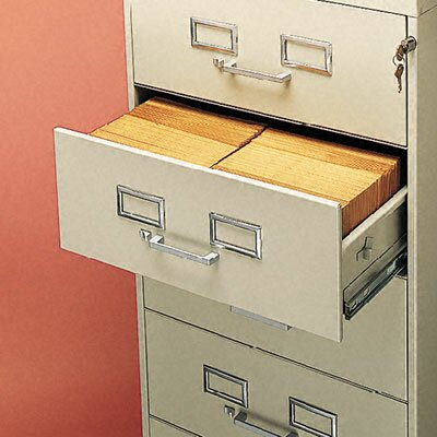 Tennsco Corp. 6-Drawer Multimedia Cabinet for 6 X 9 Cards