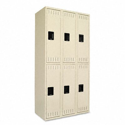 Tennsco Corp. Double Tier Locker, 36W X 18D X 72H