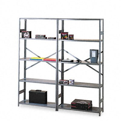Tennsco Corp. Commercial Steel Shelving, 5 Shelves