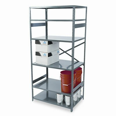 Tennsco Corp. Commercial Steel Shelving, 6 Shelves