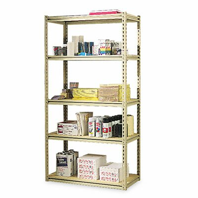 "Tennsco Corp. Tennsco Stur-D-Stor 30"" 5 Shelf Shelving Unit Starter"