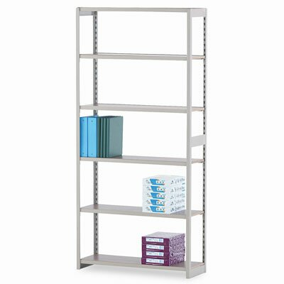 "Tennsco Corp. Regal Shelving Starter Set, 6 Shelves, 12"" Length"