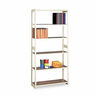 "Tennsco Corp. Regal Shelving Starter Set, 6 Shelves, 15"" Length"