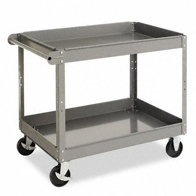 Tennsco Corp. Two-Shelf Metal Cart