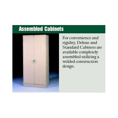 "Tennsco Corp. Assembled Deluxe 24"" Deep Wardrobe Cabinet"