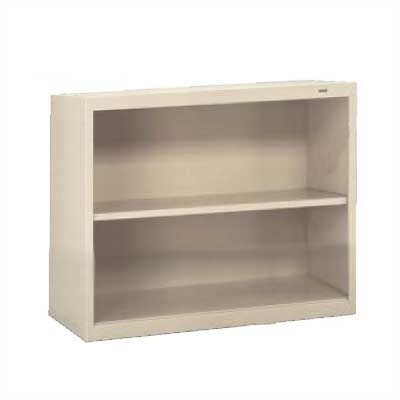 "Tennsco Corp. Welded 28"" H Two Shelf Bookshelf"