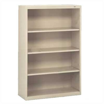 "Tennsco Corp. Welded 52"" H Four Shelf Bookshelf"