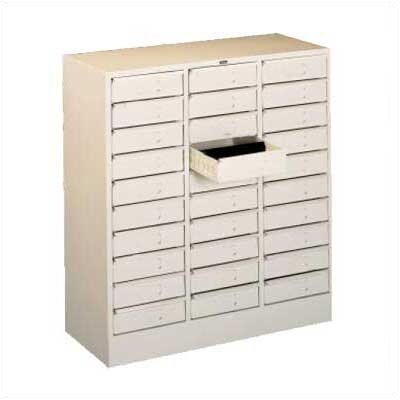 Tennsco Corp. 30 Drawer Organizer, Letter Size