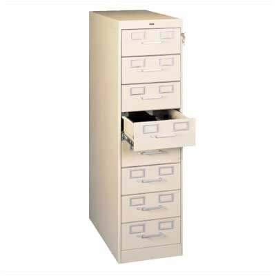 Tennsco Corp. Card and Multimedia File Filing Cabinet