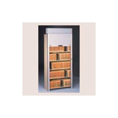 Tennsco Corp. Tambour Door Open Filing Unit for Imperial Filing Cabinet