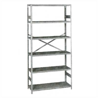 "Tennsco Corp. Standard 75"" H 5 Shelf Shelving Unit Starter"