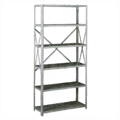Tennsco Corp. Q Line Box-Formed 6 Shelf Shelving Unit Starter