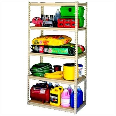 Tennsco Corp. Stur-D-Store 4 Shelf Shelving Unit Starter