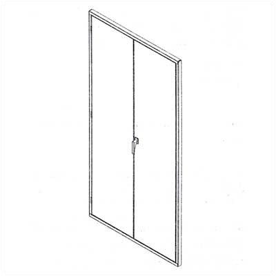 Tennsco Corp. Z Line Hinged Doors
