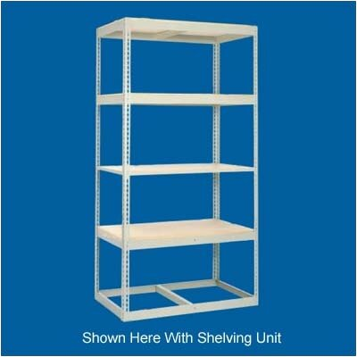 "Tennsco Corp. Z Line Heavy Duty 84"" H 4 Shelf Shelving Unit Starter"