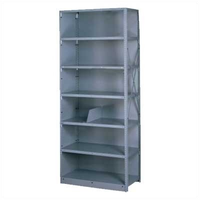 Tennsco Corp. Q Line Closed Shelving, 5 Shelves (Starter)