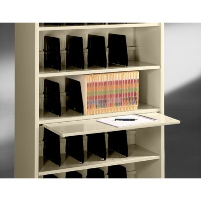 Tennsco Corp. Accessory, Fixed Shelf Slide-Out File