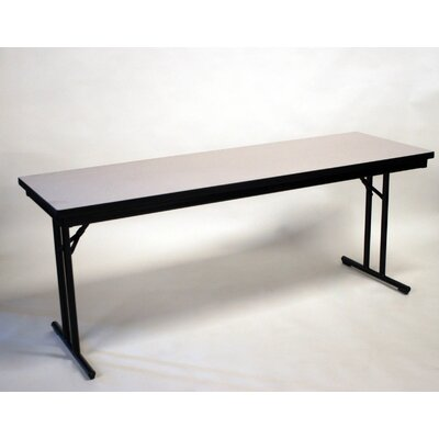 Maywood Furniture Calm Series Laminate Rectangle Training Table