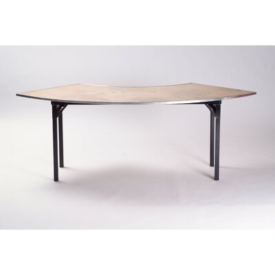 Maywood Furniture Original Series Plywood Folding Crescent Banquet Table
