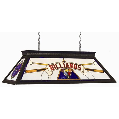 RAM Gameroom Products 4 Light Billiard Light