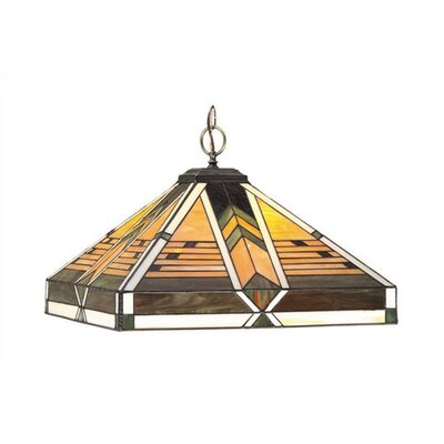 RAM Gameroom Products Taliesin 1 Light Pendant