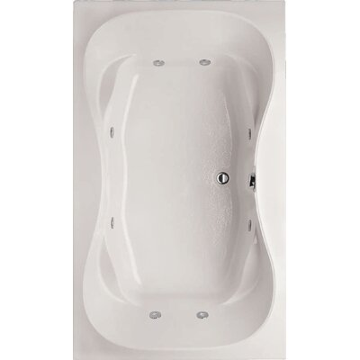"Hydro Systems Designer Evansport 72"" x 42"" Air Tub with Thermal System"