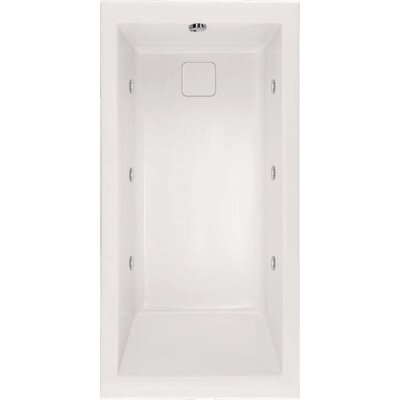 "Hydro Systems Designer Marlie 66"" W X 32"" D Air Bath Tub with Thermal System"