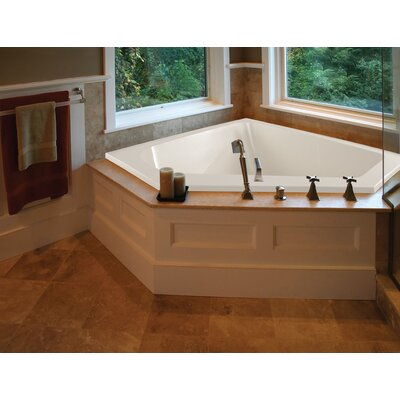 "Hydro Systems Designer Courtney 60"" x 48"" Whirlpool Tub with Combo System"
