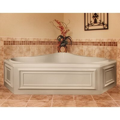 "Hydro Systems Designer Erica 60"" W X 60"" D Air Bath Tub with Thermal System"