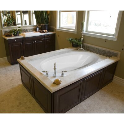 "Hydro Systems Designer Ovation 60"" x 42"" Bathtub"
