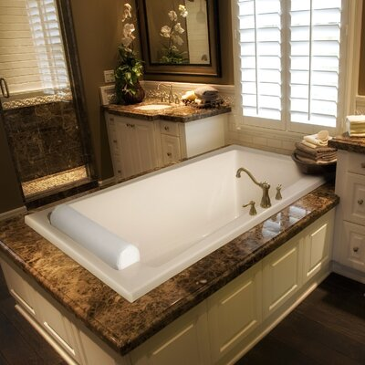 "Hydro Systems Designer 70"" x 34"" Regal Bathtub with Whirlpool System"